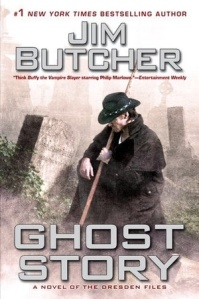 US cover of Ghost Story by Jim Butcher